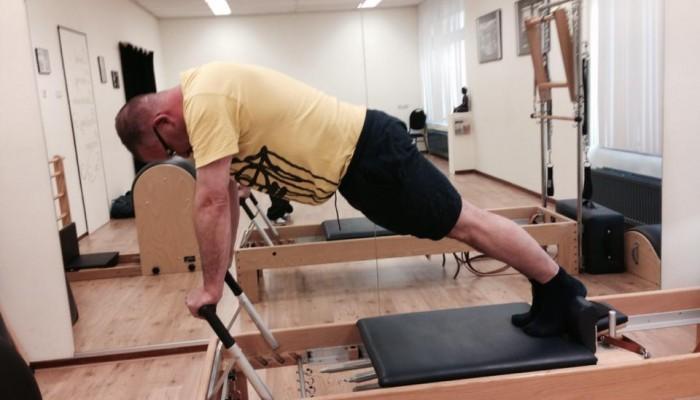 """Cees Sinke:""""Hoe ik bij Pilates ben terecht gekomen."""""""