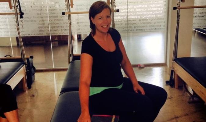 Mijn eerste stappen als Pilates trainer.