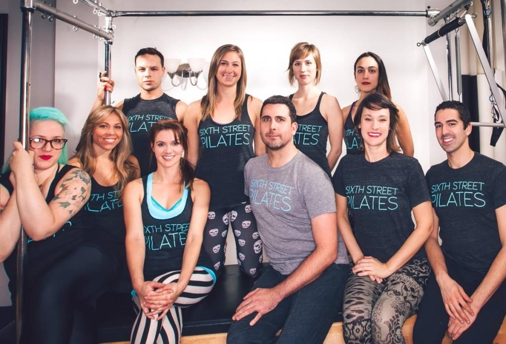 Pilates by Deneka Peniston — met Anula Maiberg, Benjamin Stuber, Danielle King, Allie Lochary, Jeremy Laverdure, Amy Larson, Devika Wickremesinghe, Allison DeVane en  Greg Youdan.