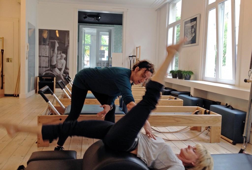 Ann in haar studio