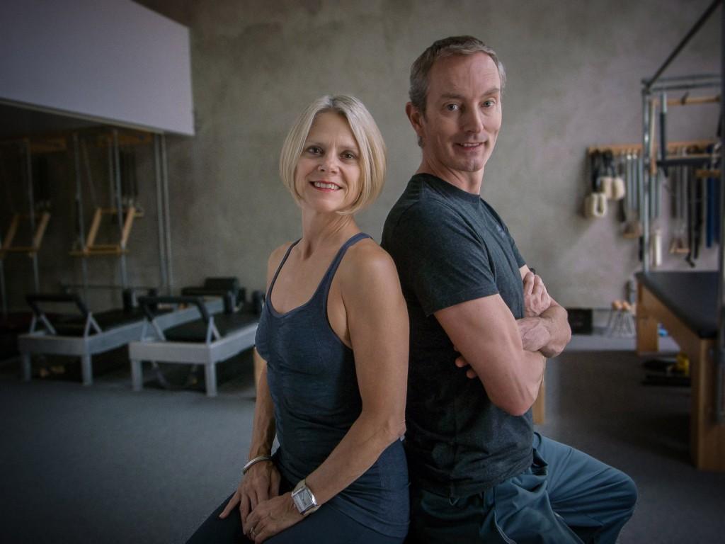 Krisna Hanks en haar echtgenoot Robert Surenbroek
