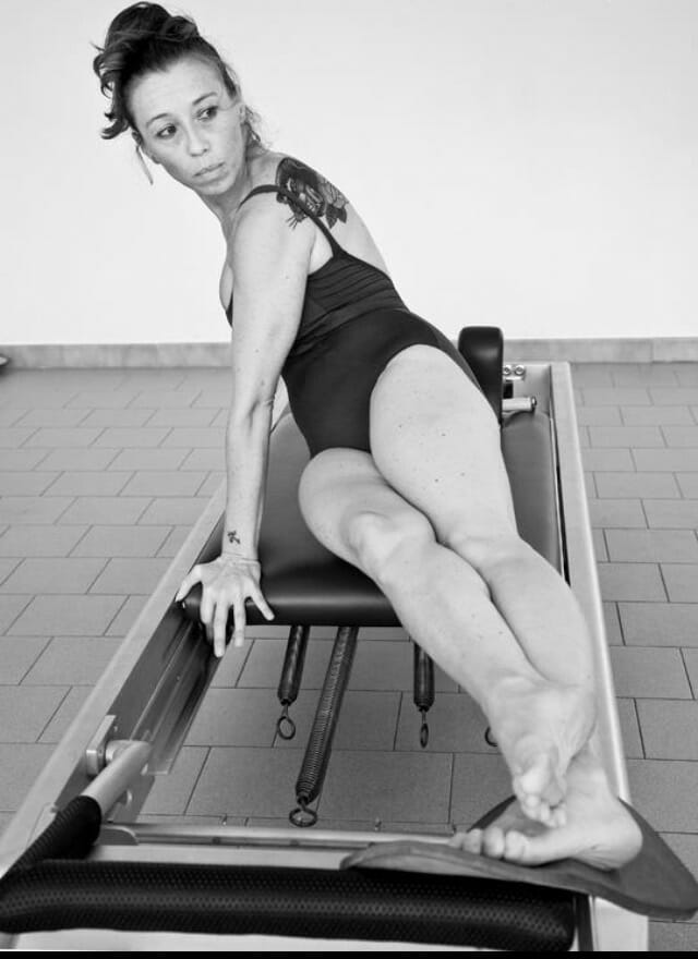 The Snake with twist on The Reformer